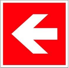 "F ""Richtungsangabe- Pfeil gerade"""